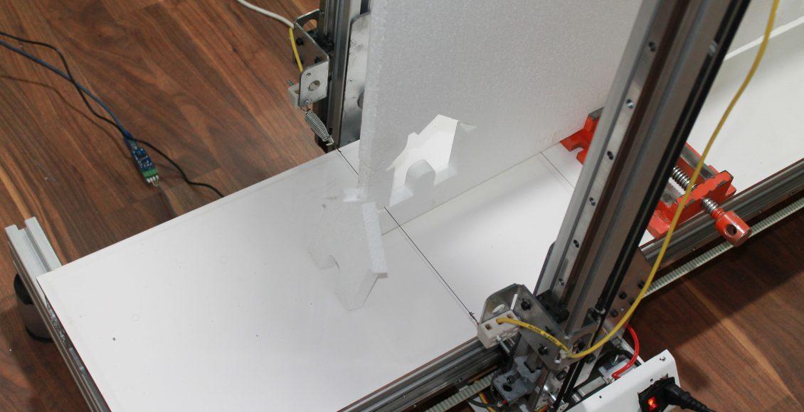 ساخت دستگاه سی ان سی ایرانی  CNC