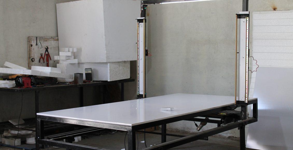 ساخت دستگاه برش یونولیت – گروه صنعتی دیوک