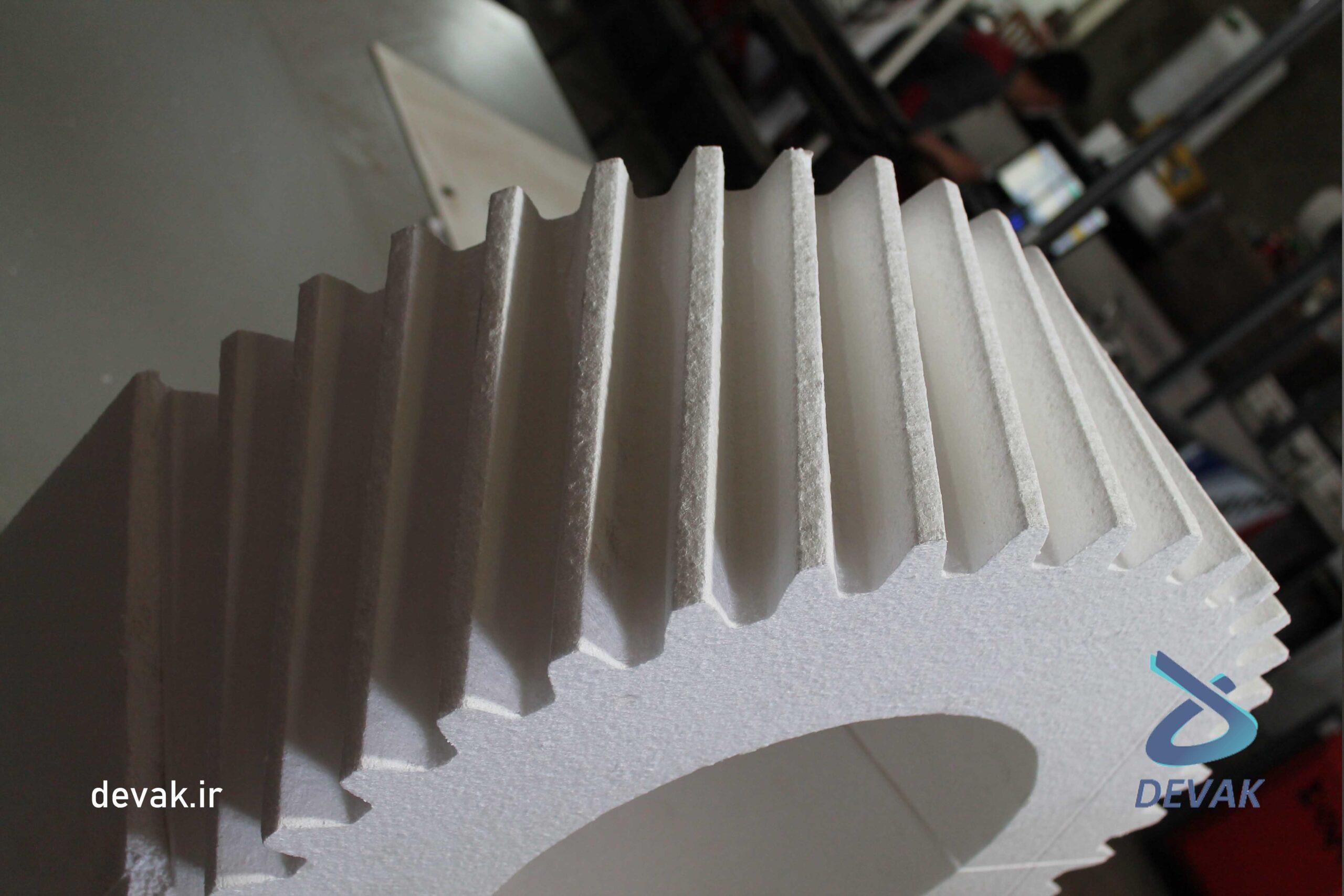 دستگاه ساخت و برش قالب با یونولیت