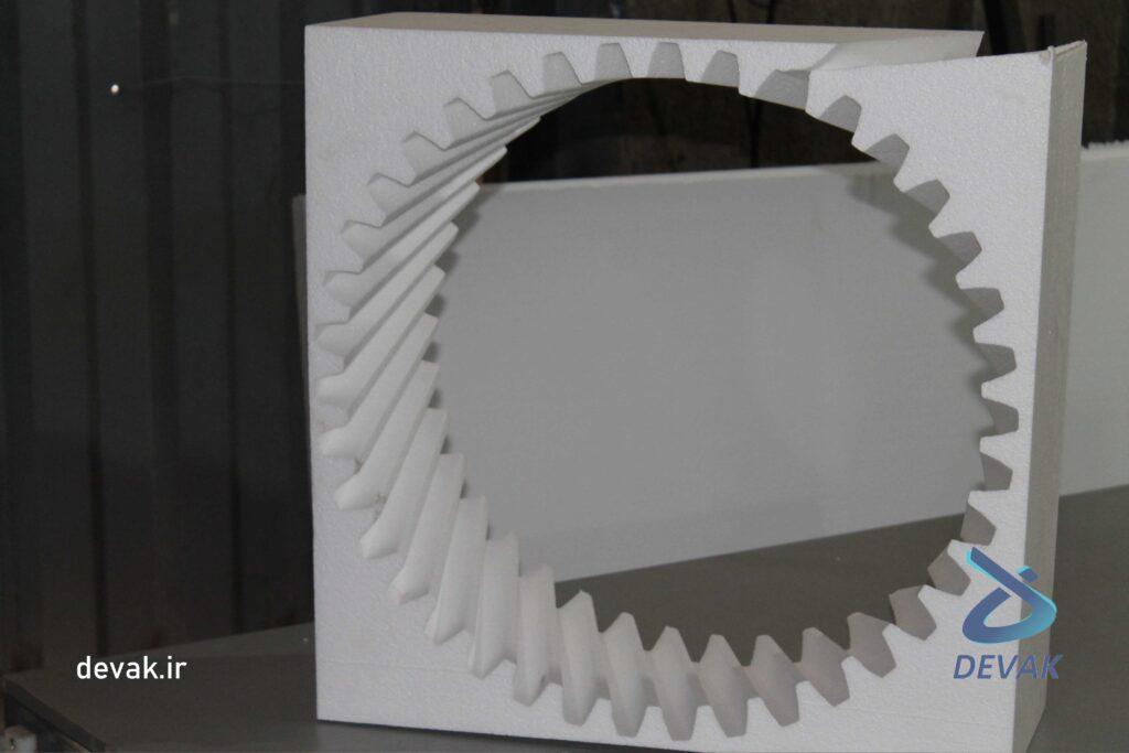 دستگاه سی ان سی ساخت قالب یونولیتی