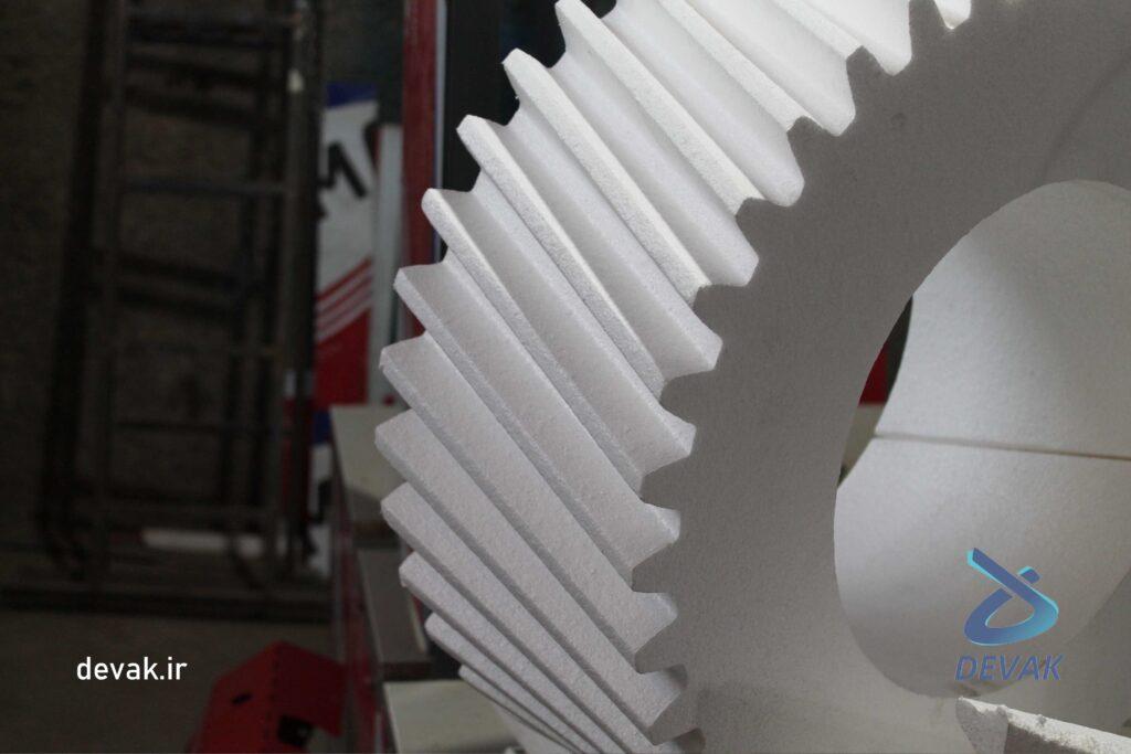 دستگاه سی ان سی ساخت قالب یونولیتی دیوک