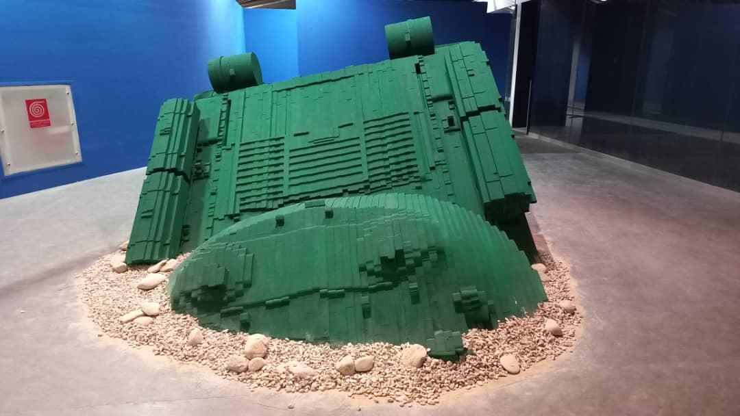 ساخت ماکت تانک با یونولیت